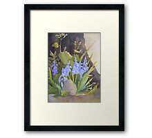 Life in the Garden Framed Print