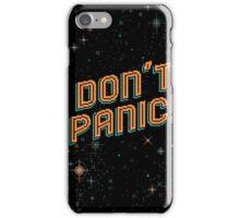 Don't Panic! Pixels iPhone Case/Skin