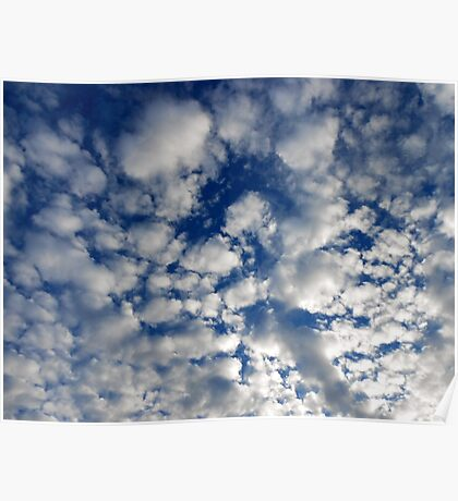 Fluffy Clouds Poster