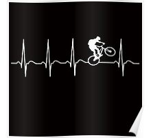 Bicycle Bike, Hearth waves Poster