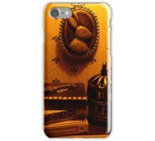 Rabbit Books and Birdcage iPhone Case/Skin