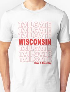 Thank You Wisconsin Tailgate Unisex T-Shirt