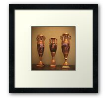 Legendary and ancestral cup Framed Print