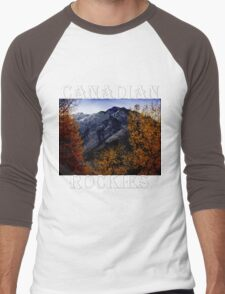 Autumn In The Rockies Men's Baseball ¾ T-Shirt