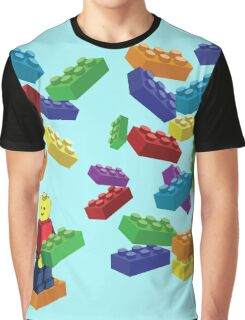 LEGOS and Minifigure Graphic T-Shirt