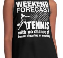 Weekend Forecast Tennis Contrast Tank