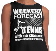 Weekend Forecast Tennis Contrast Tank