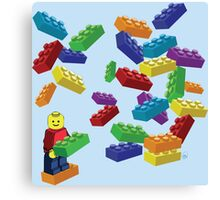LEGOS and Minifigure Canvas Print