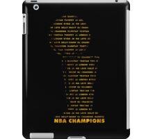 Cavs Solo Trophy iPad Case/Skin