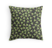 Chibi Yoda Throw Pillow