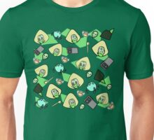 Green girl Unisex T-Shirt