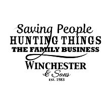 Winchester & Sons - The Family Business by Tegan  Crocker