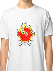 Feuer lagerfeuer  Classic T-Shirt