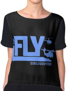 iFLY Helicopter Chiffon Top