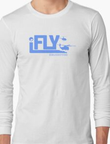 iFLY Helicopter Long Sleeve T-Shirt