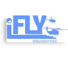 iFLY Helicopter Canvas Print