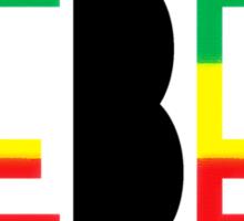 Rebel BLK Sticker