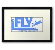 iFLY Fighter Framed Print