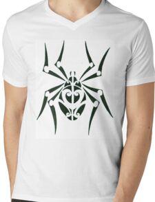 Tribal Spider Mens V-Neck T-Shirt