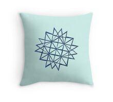 Papercut star 1 Throw Pillow