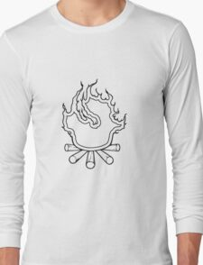 Feuer lager lagerfeuer  Long Sleeve T-Shirt