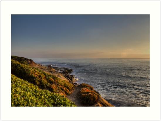 Sunset at La Jolla by Stefan Trenker
