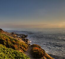 Sunset at La Jolla by Stefan Trenker