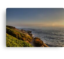 Sunset at La Jolla Canvas Print
