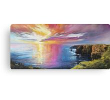 Cliffs of Moher sunset Canvas Print
