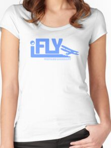 iFLY Vintage Women's Fitted Scoop T-Shirt