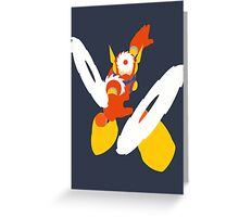 Metal Man Greeting Card