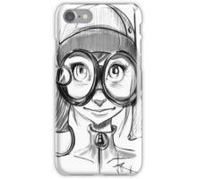 Steampunk Girl Elf Variant iPhone Case/Skin