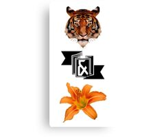 Tiger & Lily, Peter Pan themed- Simple Canvas Print