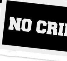 NO VICTIM NO CRIME  Sticker