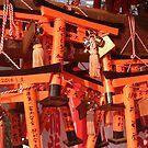 Tori Gates Fushimi Inari by inu14
