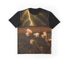 In darkest night one sees the flash but beauty soothes the karmic crash Graphic T-Shirt