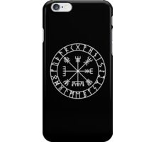 Vegvísir PATH GUIDE and Elder Futhark RUNES iPhone Case/Skin