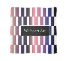 We heart Art -- part of Metamorphosis Collection Scarf