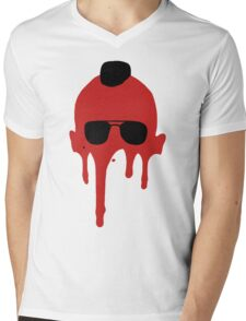 Taxi Driver, Travis Bickle Silhouette Mens V-Neck T-Shirt