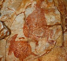 Aboriginal Rock Art by Carole-Anne