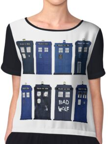 Doctor Who - The TARDIS Chiffon Top