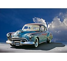 1950 'Gas Monkey' Olds Rocket 88 Photographic Print