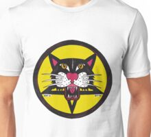 Big Black Demon Cat  Unisex T-Shirt