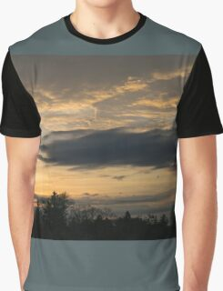 Ominous Looking Clouds at Sunset in Toronto, ON, Canada Graphic T-Shirt