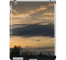 Ominous Looking Clouds at Sunset in Toronto, ON, Canada iPad Case/Skin