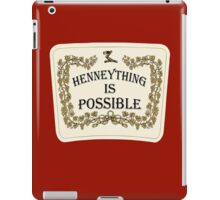 Henneything is Possible iPad Case/Skin