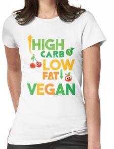 HCLF vegan! Womens Fitted T-Shirt