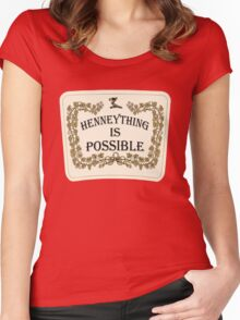 Henneything is Possible Women's Fitted Scoop T-Shirt