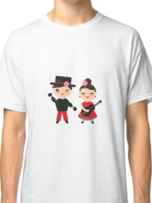 Flamenco boy and girl Classic T-Shirt