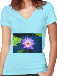 Illuminated! Women's Fitted V-Neck T-Shirt